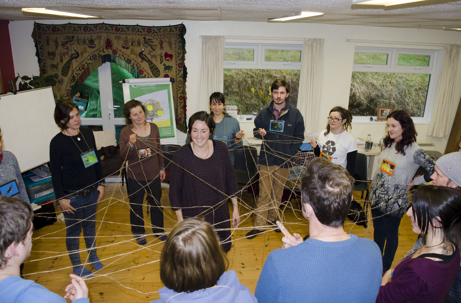 Cari web of connections