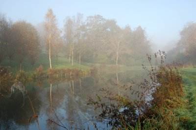 Winter mist on our local lake ~ a perfect place for reflection
