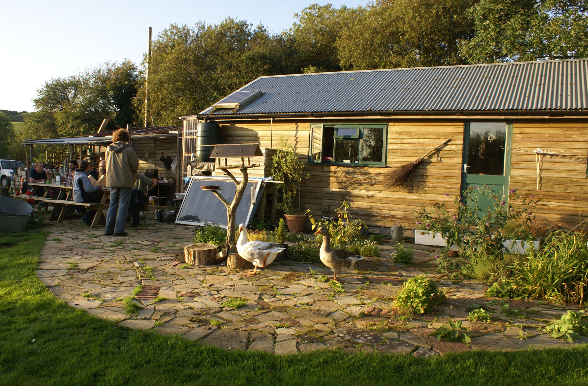 Sunset on Ourshed